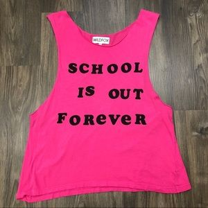 WILDFOX School is out forever tank